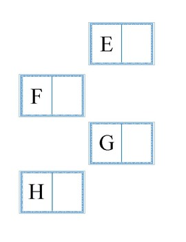 Upper to Lowercase Alphabet Match