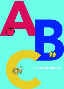 Uppercase 3 Letter Words (Workbook)