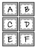 Uppercase Alphabet Letter Cards