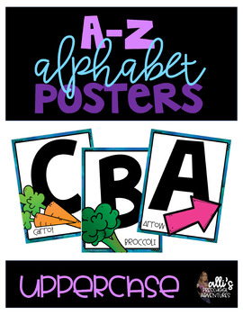 Uppercase Alphabet Posters