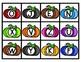 Uppercase Letters Alphabet Pumpkins