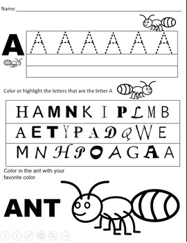 Uppercase Alphabet Sheets