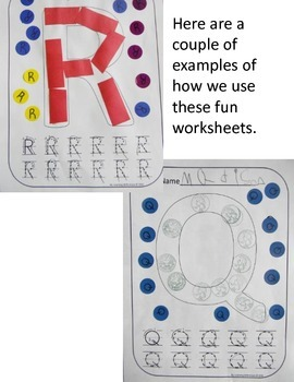 Uppercase Alphabet Worksheets