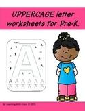 Uppercase Alphabet Worksheets