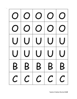 Uppercase Alphabet and Number Tiles 1 -10