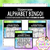 Uppercase BINGO! (2 Sets- Beginner and Advanced)