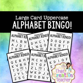 Uppercase BINGO! (2 Sets- Beginner and Advanced)
