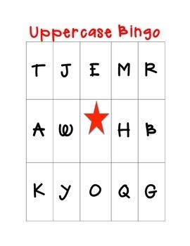Uppercase Bingo!