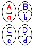 Uppercase (Capital) and Lowercase Matching Cards