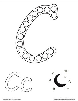 Uppercase Coloring Pages