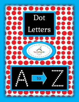 Uppercase Dot Letters A to Z