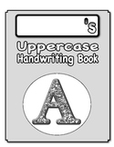 Uppercase Handwriting Book (paraprofessional or volunteer)