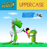 Handwriting Heroes: Uppercase Practice Workbook