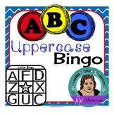 Uppercase Letter Bingo Set for Practicing Uppercase Letter Recognition!