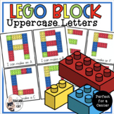 Uppercase Letter Building - for building blocks