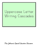 Uppercase Letter Cascades
