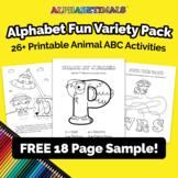 FREE SAMPLE – Alphabetimals™ Alphabet Fun Variety Pack