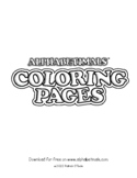 Uppercase Letter Coloring Pages – Alphabetimals Alphabet P