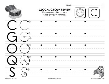Uppercase Alphabet Groups Printable