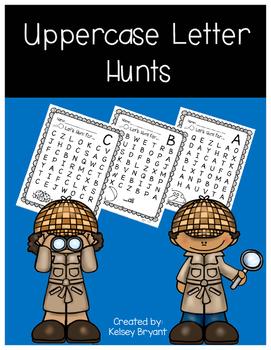 Uppercase Letter Hunts