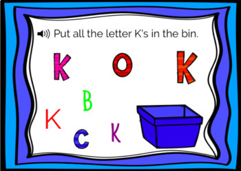 Boom Cards: Uppercase Letter Identification