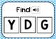 Uppercase Letter Identification Interactive Digital Task Cards (Boom! Deck)