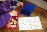 Uppercase and Lower Case Letter Match and Stamp