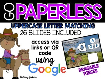 Uppercase Letter Matching using Google Slides
