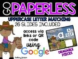 Uppercase Letter Matching using Google Slides