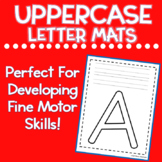 Uppercase Letter Mats