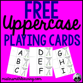 Uppercase Letter Playing Cards