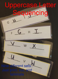 Uppercase Letter Sequences