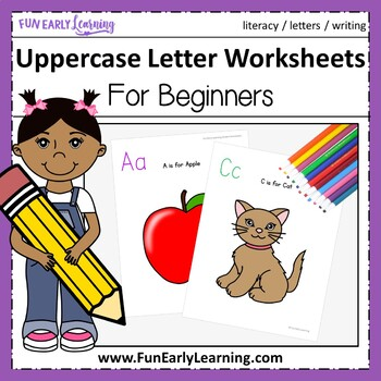 Uppercase Letter Worksheets for Beginners