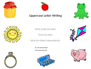 Uppercase Letter Writing
