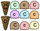 Uppercase & Lowercase Aa - Zz Ice Cream Sort Stackers