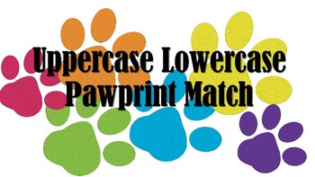 Uppercase Lowercase Alphabet Match