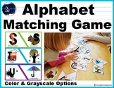 Uppercase & Lowercase Alphabet Matching Game
