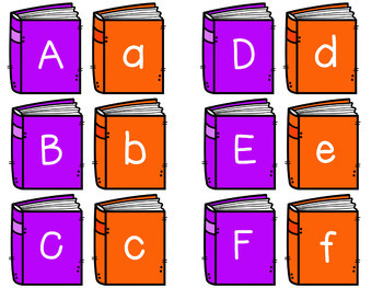 Uppercase Lowercase Book Match