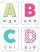 Uppercase-Lowercase Clothespin Literacy Station