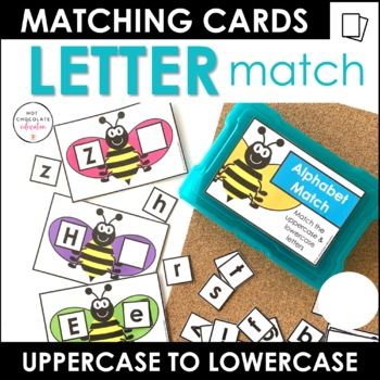 Alphabet  Match - Uppercase Lowercase Letter Recognition Activity