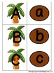 Uppercase/ Lowercase Letter Match Coconut Tree