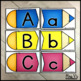 Uppercase & Lowercase Letter Match Puzzles: Hands on Center for Letter ID