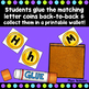 Uppercase Lowercase Letter Matching Activity