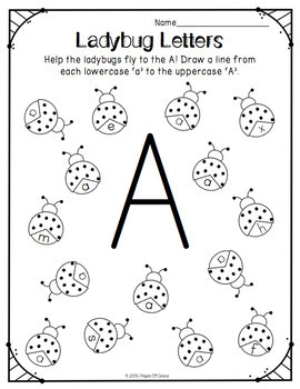 letter recognition lesson plan letter recognition activities uppercase amp lowercase by 18820 | original 2487678 2