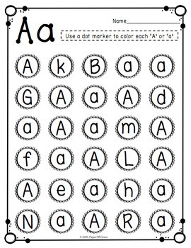 letter recognition worksheets letter recognition activities uppercase amp lowercase by 23128 | original 2487678 4