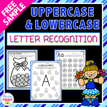 FREE Uppercase & Lowercase Letter Recognition Packet