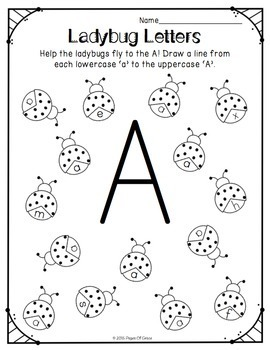 letter recognition pdf free uppercase amp lowercase letter recognition packet by 6521