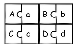 Uppercase/Lowercase Match and Initial Sound Picture Puzzles