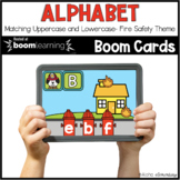 Uppercase Lowercase Matching BOOM CARDS™ | Digital NO-PREP