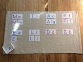 Uppercase & Lowercase Matching Cards - Montessori Inspired